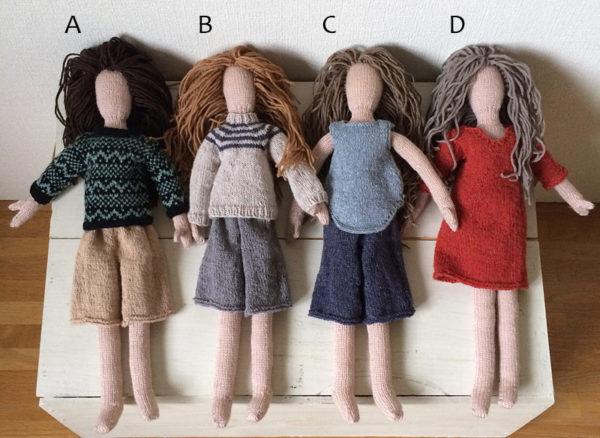 母の編み人形ワークショップ