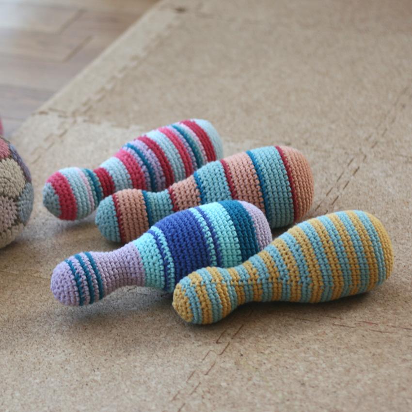 かぎ針編み ボーリングピン