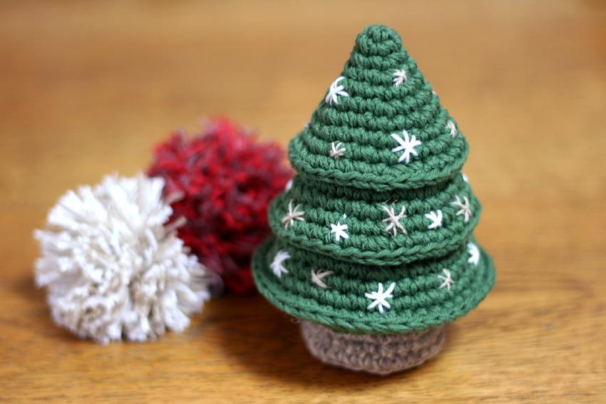 かぎ針編み クリスマスツリー