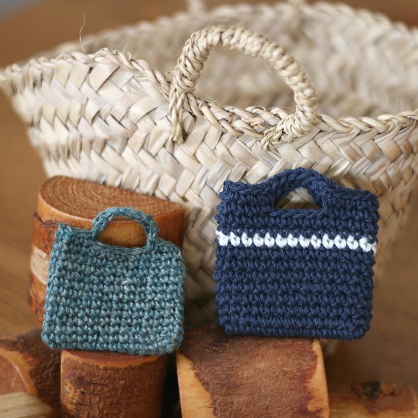 かぎ針編み 小さな小さなバッグたちⅡ