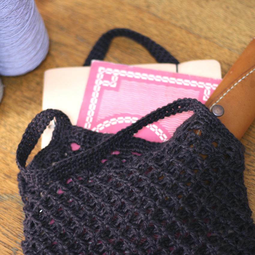 かぎ針編み お買い物やおけいこにも