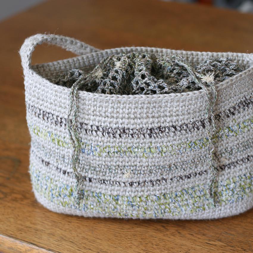 かぎ針編み 2wayショルダー