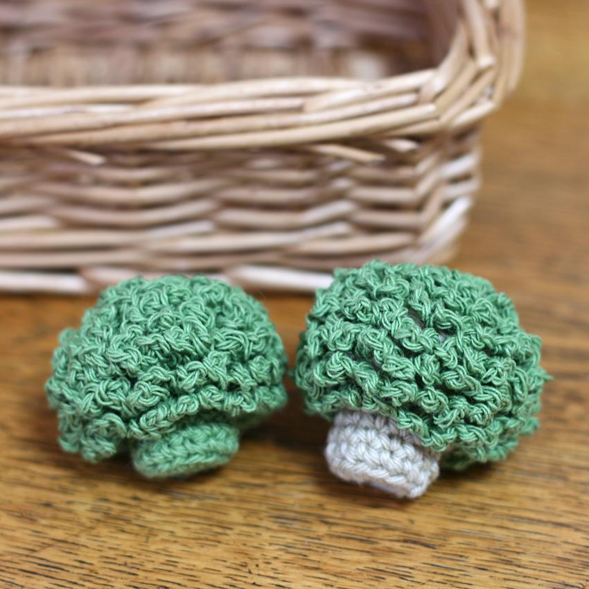 かぎ針編み ままごとブロッコリー