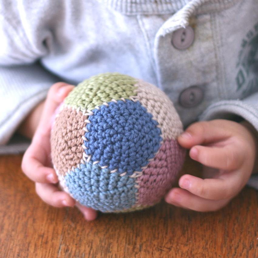 かぎ針編み 12枚はぎボール