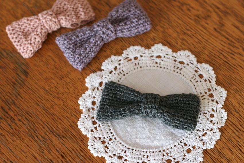 かぎ針編み リボンA
