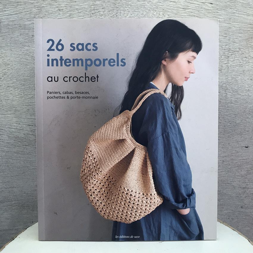 麻ひもと天然素材で編む かごバッグ」フランス語版