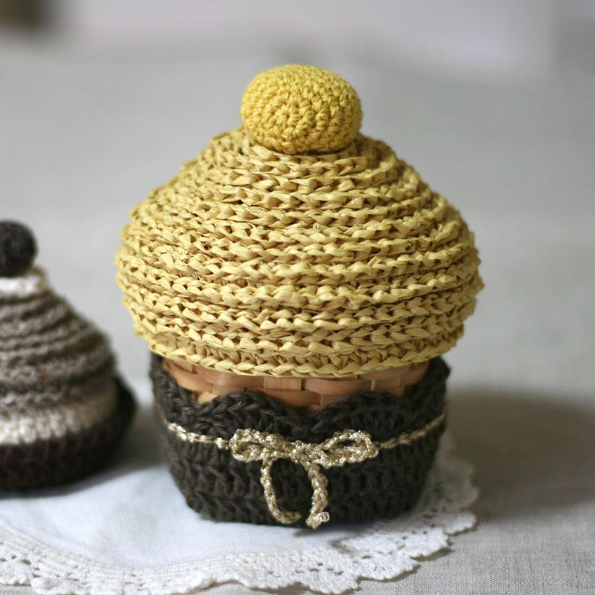 かぎ針編み クロッシェ・パティシエのモンブラン