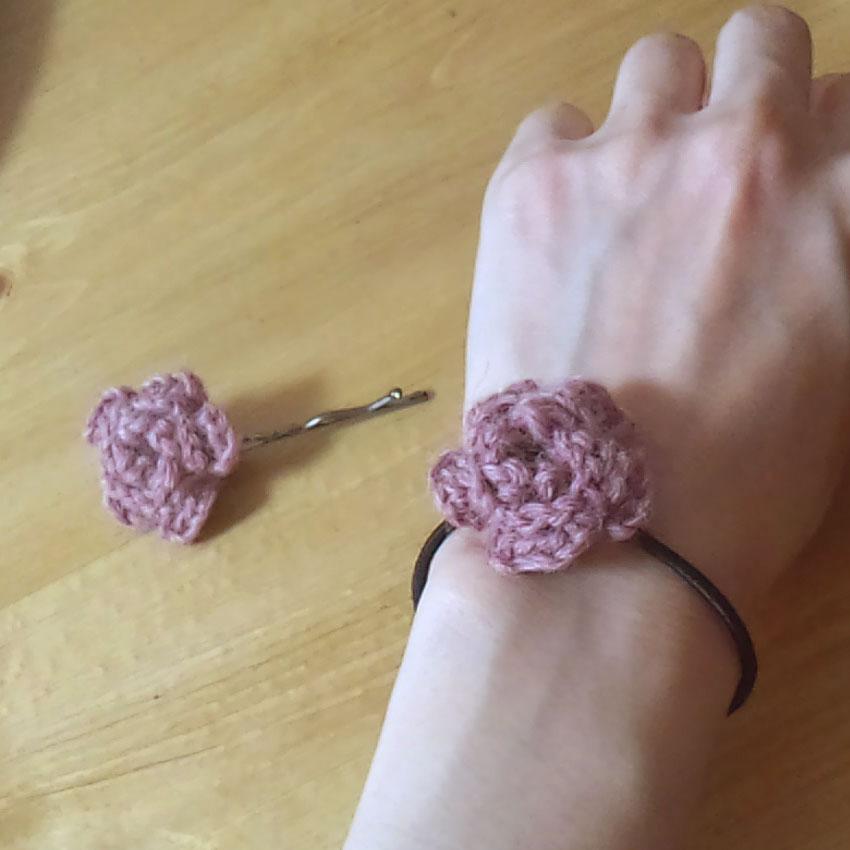 かぎ針編み 小さなお花