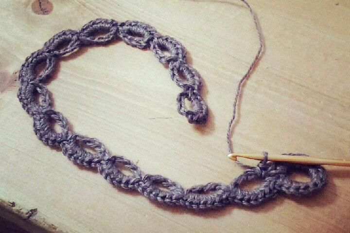 かぎ針編み カーテンタッセルの編み方