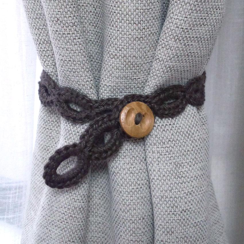 かぎ針編み カーテンタッセル