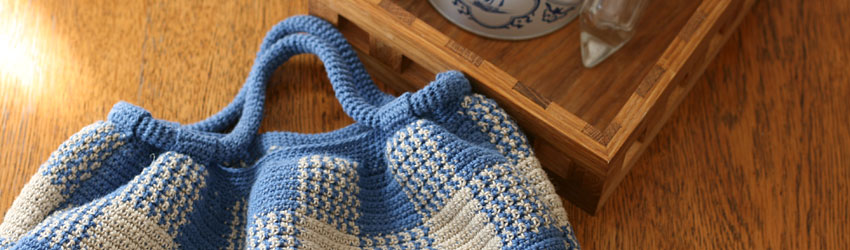 かぎ針編み 無料編み図[バッグ・袋もの]