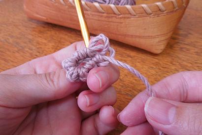 かぎ針編み わ編み [19]糸が余っています