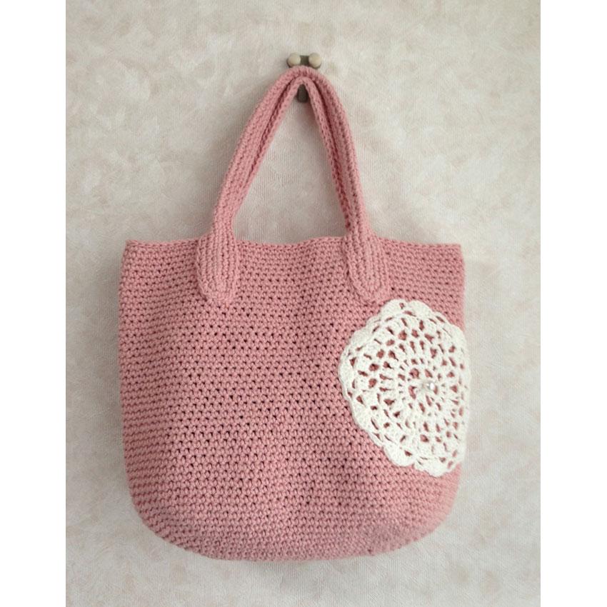 美桜さんの「サイザル風バッグ」