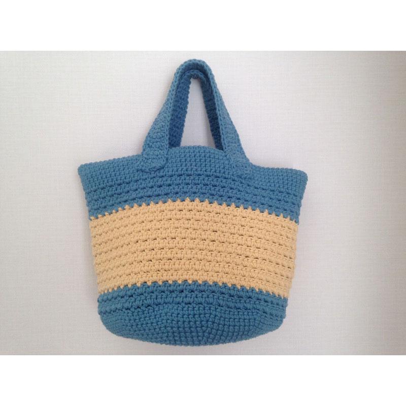 Yukiさんの「シンプル丸底バッグ」