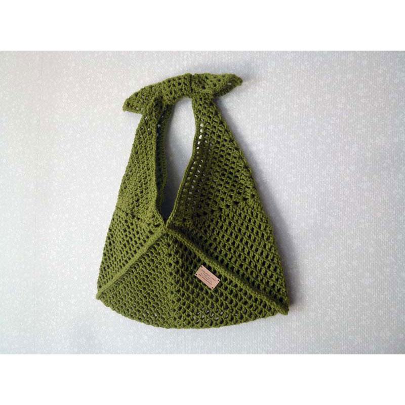 美桜さんの「クロッシェ・あずま袋」かぎ針編み 作品