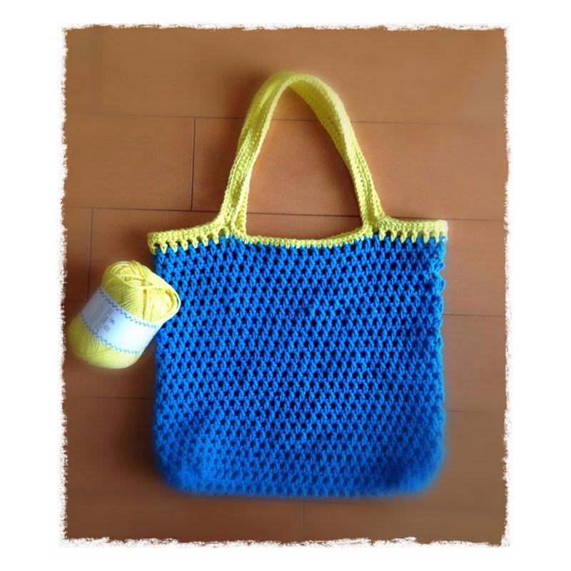 koalaさんの「夏のミニバッグ」かぎ針編み 作品