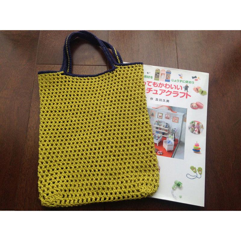Yukiさんの「夏のミニバッグ」かぎ針編み 作品