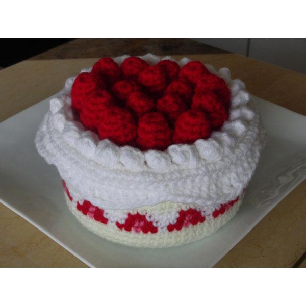 かぎ針編み さりーさんの「クロッシェ・パティシエのケーキ小箱」
