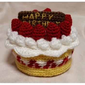 かぎ針編み Atsuko Takahashi さんの「クロッシェ・パティシエのケーキ小箱」