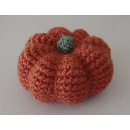 かぎ針編み ピグピグさんの「ハロウィーンのかぼちゃ」