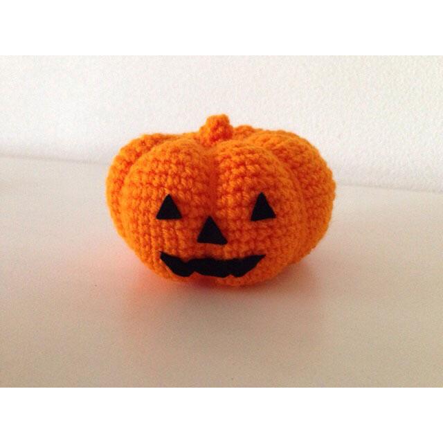 かぎ針編み koalaさんの「ハロウィーンのかぼちゃ」