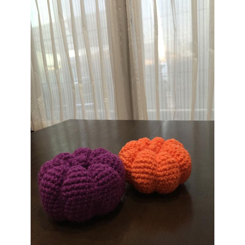 かぎ針編み えりちんさんの「ハロウィーンのかぼちゃ」