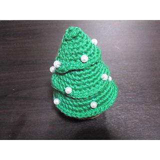 かぎ針編み ぼんこさんの「クリスマスツリー」