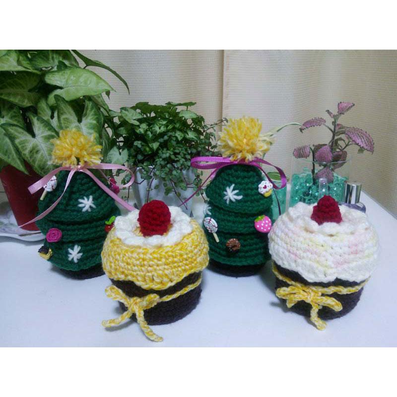 かぎ針編み 紅葉さんの「クリスマスツリー」