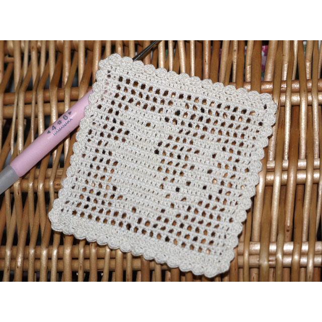 編み物屋さん[ゆとまゆ]さんの「りすのドイリー」