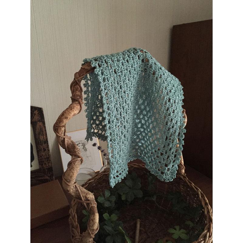 coochaさんの「どこまでも長く編むフリークロス」かぎ針編み 作品