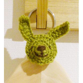 かぎ針編み yupi*さんの「うさぎ・くまモチーフ」