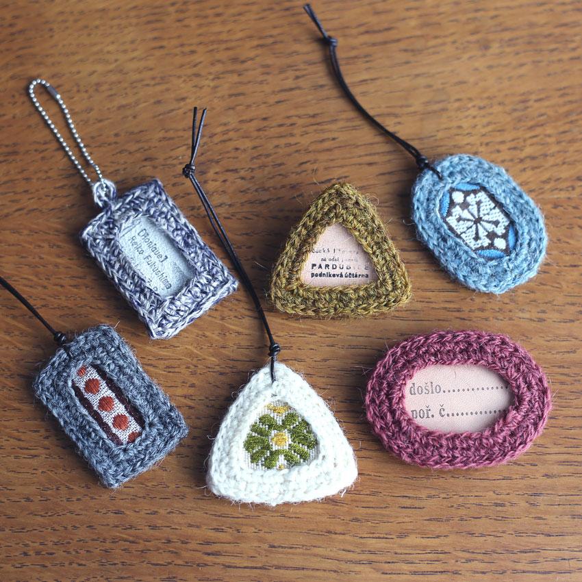 かぎ針編み 編み図「フレームモチーフ」