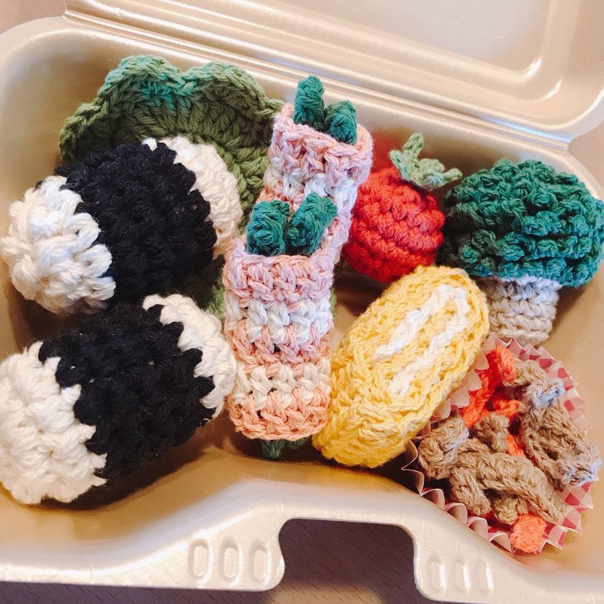 かぎ針編み ちぃさんの「ままごとブロッコリー」