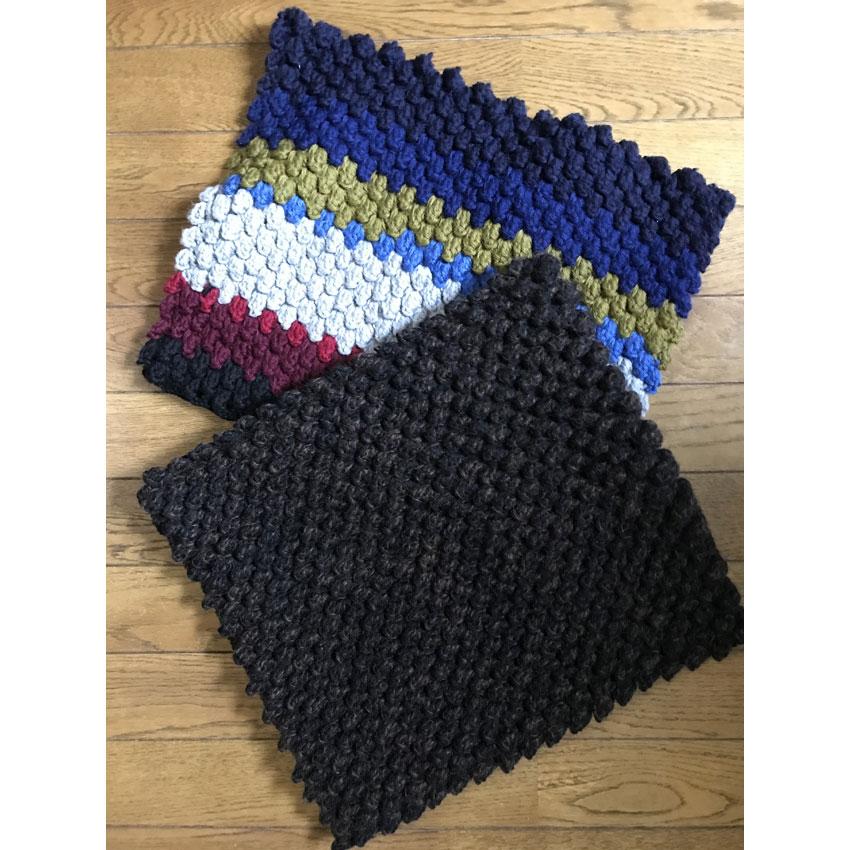 かぎ針編み あんこさんの「ノーブル角座」