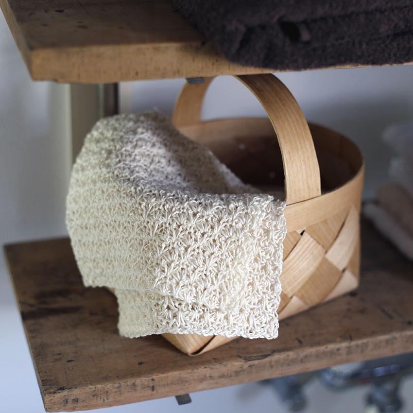 かぎ針編み ウォッシュタオル